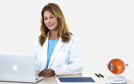 Doctor chatting with patient